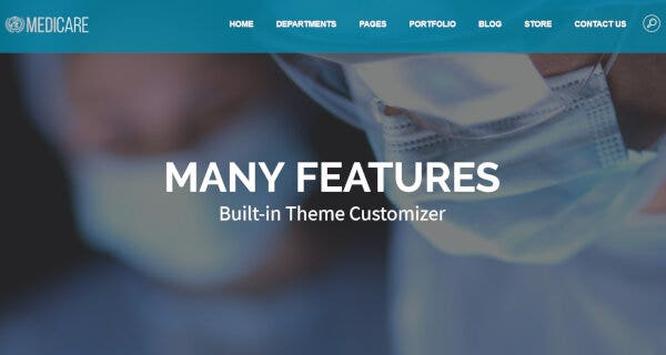Medicare – Parallax WordPress Theme