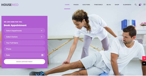 HouseMed – One-click Import WP Theme