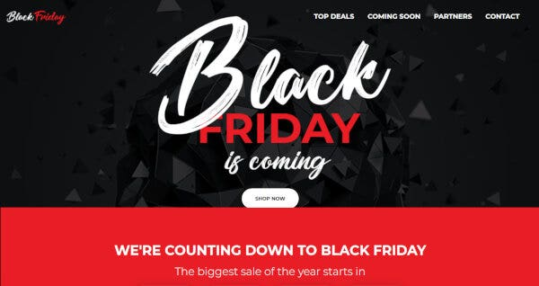 Black Friday – Elementor Powered WordPress Theme