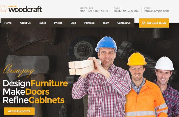 Carpenter – WPML Compatible WordPress Theme
