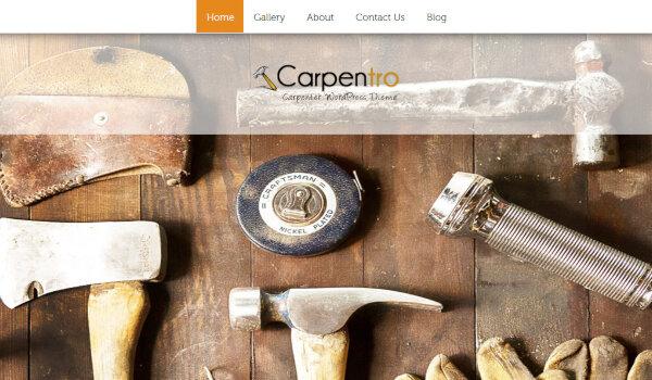 Carpentro – Full-width slider WordPress Theme