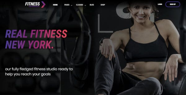 Fitness Gym – WooCommerce WordPress Theme