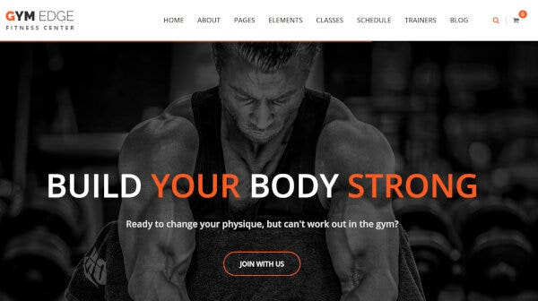 Gym Edge – Layer Slider WordPress Theme