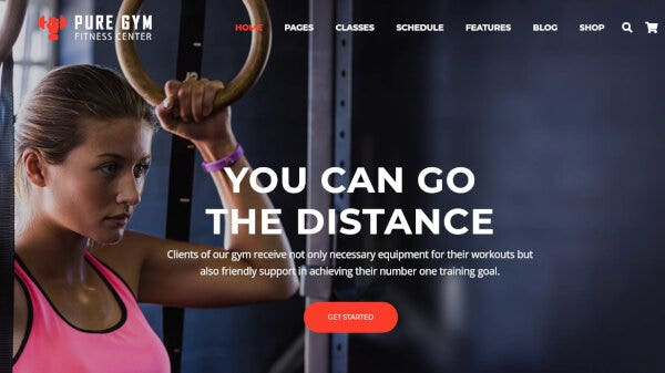PureGym – Slider Revolution WordPress Theme