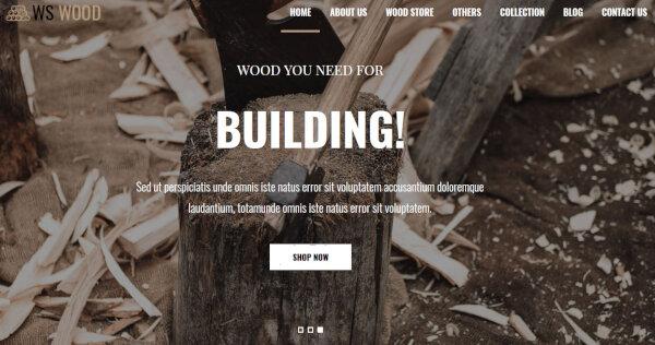WS Wood – eCommerce WordPress Theme