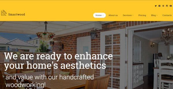 Smartwood – Translation ready WordPress Theme