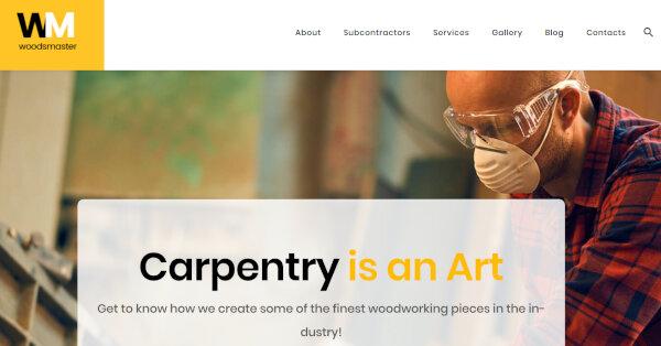 Woodsmaster – Calendar Compatible WordPress Theme