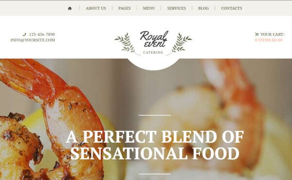 Royal Event - WPBakery Compatible WordPress Theme