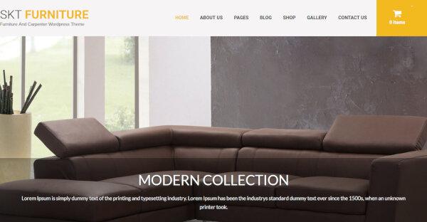 Furniture Pro – Video Plugin Compatible WP Theme