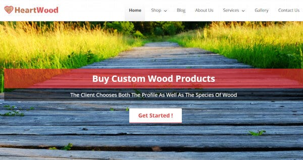 HeartWood – Widgetized WordPress Theme