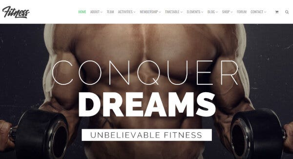 Fitness – One-Click Demo Import WordPress Theme