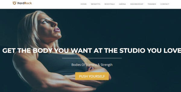 HardRock – Front-End Customizer WordPress Theme
