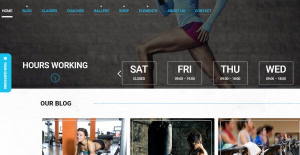 Sport Club - WooCommerce WordPress Theme