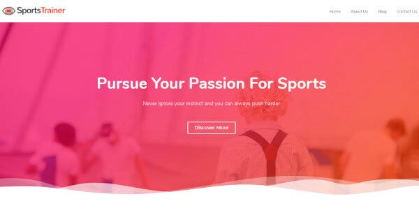 Sports, Fitness And Gym WordPress Theme