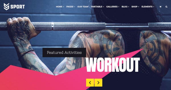 Sport – Visual Composer WordPress Theme