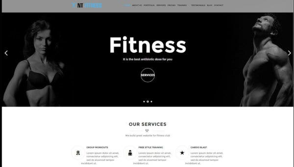 NT Fitness – LayersWP Framework WordPress Theme