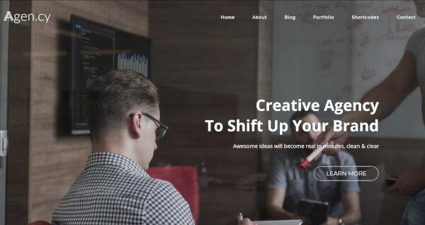 Agency- Retina-Ready WordPress Theme
