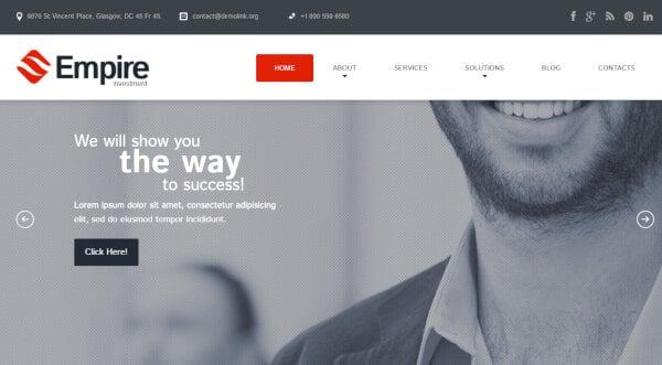 Financial Advisor - Auto-updater Enabled WordPress Theme