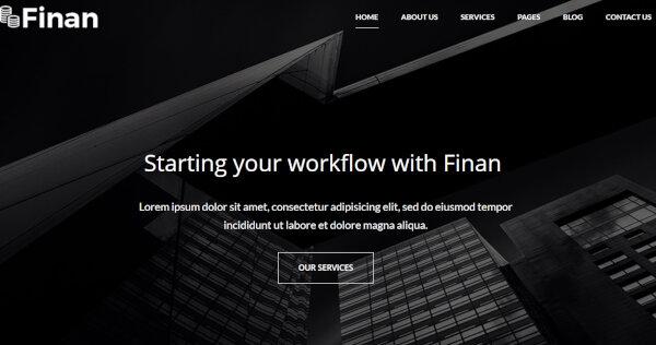 Finan - SEO Optimized WordPress Theme