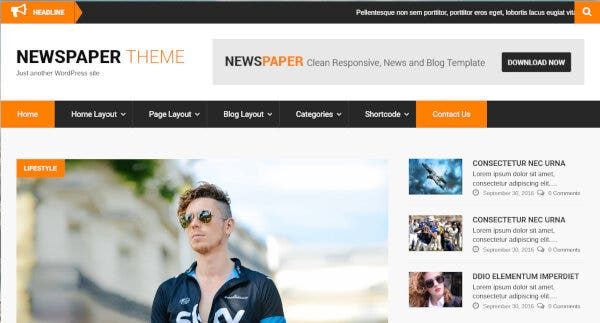 SKT NewsPaper Pro - Gallery Plugins Compatible WordPress Theme