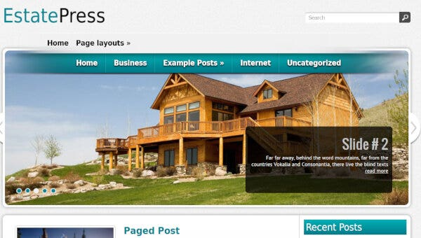 Estatepress -WordPress Theme