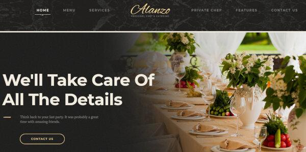 Alanzo – Mobile Device Optimized WordPress Theme
