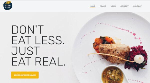 Dishlish – JetElements Supported WordPress Theme