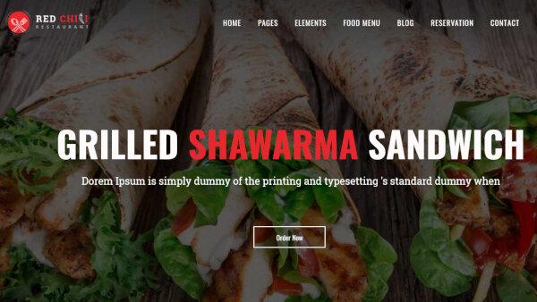 Red Chili -WooCommerce Menu Integrated WordPress Theme