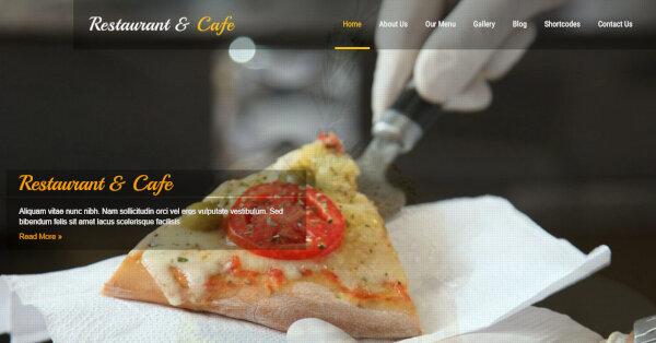 Restro - Google fonts Integrated WordPress Theme