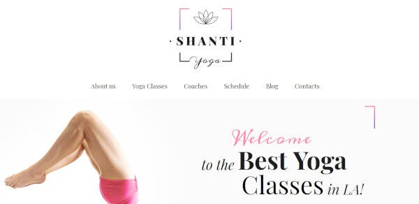 3. Shanti – Elementor WordPress Theme