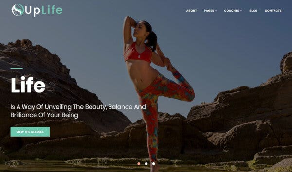UpLife – PHP WordPress Theme