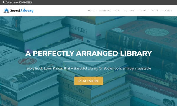 secret-library-retina-ready-wordpress-theme