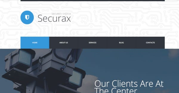 Securax - WPML WordPress Theme