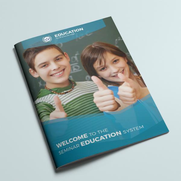 Seminar Education System Brochure Sample