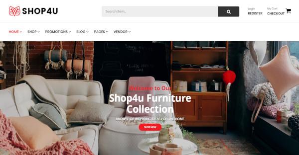 shop4u mobile friendly wordpress theme