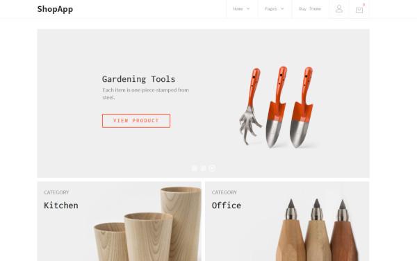 shopapp – woocommerce wordpress theme