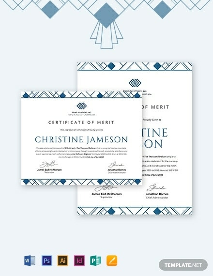 simple appreciation certificate template for employee 440x570 1