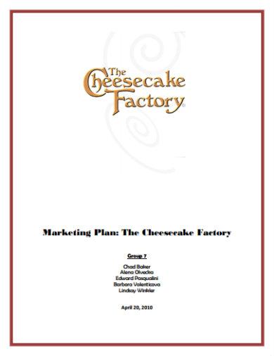 simple restaurant marketing plan