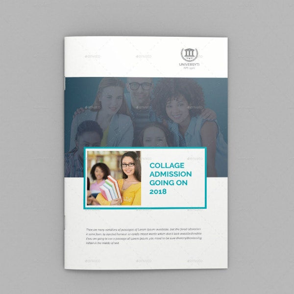 Simple University College Brochure Template