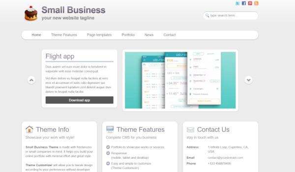 small business – responsive wordpress theme