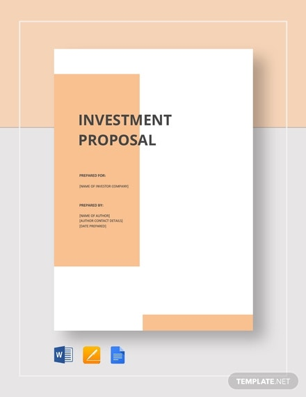 small business investment proposal 2
