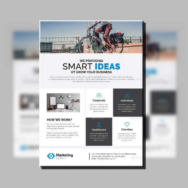 Smart Ideas Corporate Flyer Example