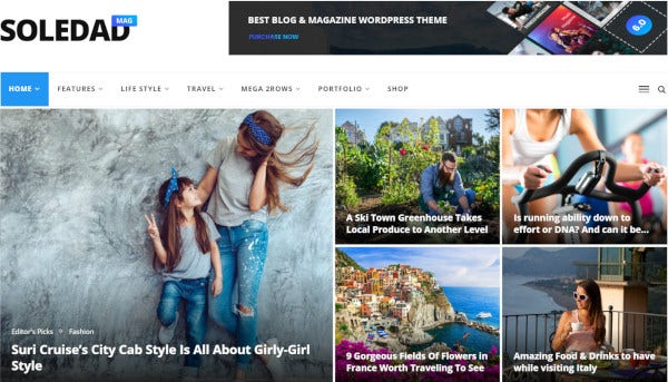 soledad seo ready wordpress theme