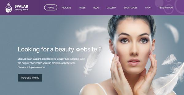 spa lab – health spa and beauty spa wordpress theme