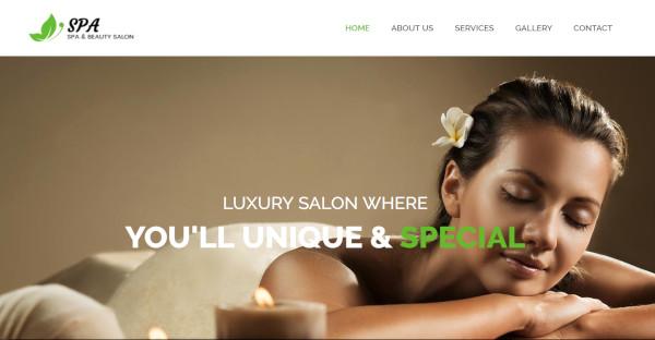 spa responsive beauty spa wordpress theme