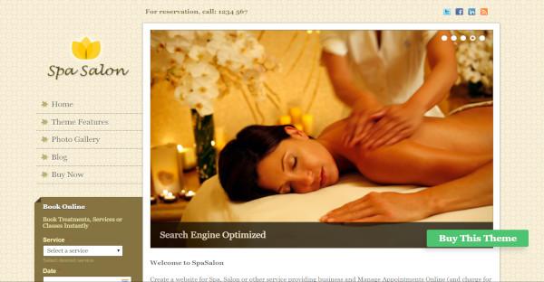 Spa Salon – WordPress Theme For Spa & Beauty