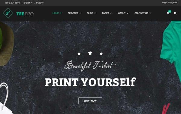 teepro-custom-wordpress-theme