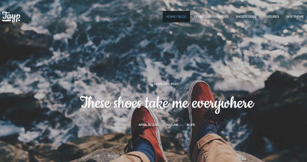 tayp wp seo friendly wordpress theme