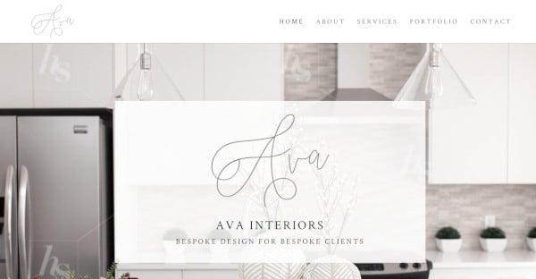 the ava mobile responsive wordpress theme