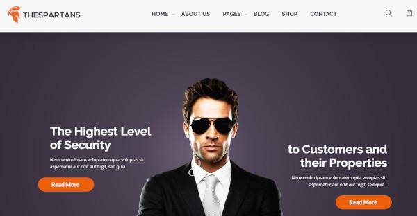 TheSpartans - MultiPurpose WordPress Theme